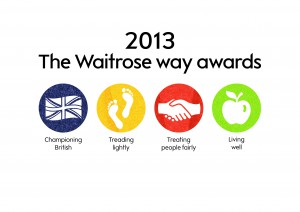 The Waitrose way awards 2013