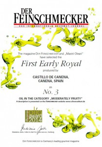 Feinschmecker-royal castillo de canena-evoo
