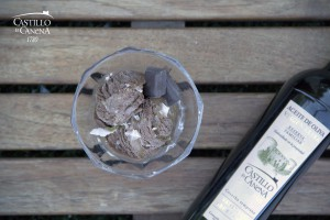 EVOO_Chocolate_Ice_cream_Castillo_de_Canena