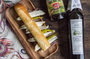 Craft_beer_founders_sandwich_Castillo_de_Canena_1