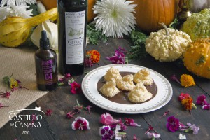 chocolate_meringue_halloween_recipe_olive_oil_Castillo_de_Canena