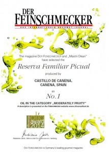 Feinschmecker-family reserve castillo de canena picual-evoo