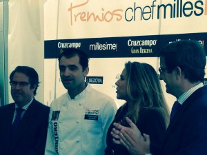 Menu Premios Chef Millesime 2014