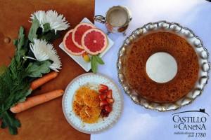 Castillo de Canena - halloween - dessert carrot cake