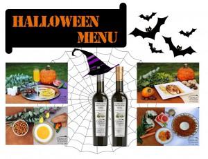 Castillo de Canena - halloween menu - olive oil - EVOO