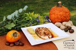 Castillo de Canena - halloween - salmon potato