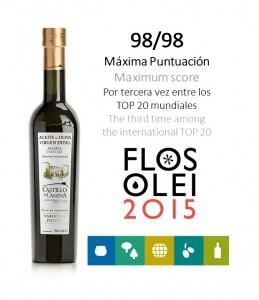 Castillo de Canena Picual - Flos Olei 2015