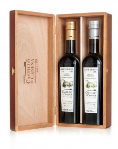 Estuche madera de roble Reserva Familiar (2uds)