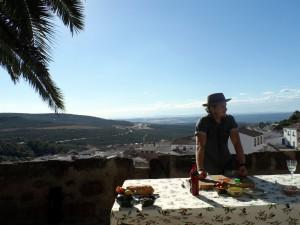 El chef estuvo grabando desde nuestro castillo en Canena