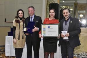 Laura Marinelli, Francisco Vañó, Rosa Vañó y Marco Oreggia