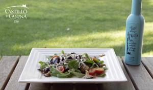 setas_cardo_king_oyster_mushroom_salad_EVOO_AOVE_Castillo_Canena