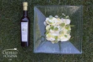 boletus_carpaccio_cheese_AOVE_EVOO_Castillo_Canena