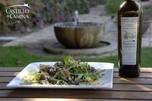champignon_fairy_ring_salad_EVOO_AOVE_Castillo_Canena