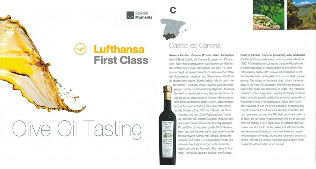 Lufthansa_Oficial_EVOO_Castillo_de_Canena