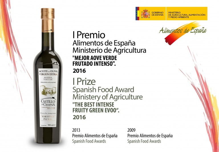 Premio_Alimentos_de_España_Magrama_aceite_Castillo_de_Canena