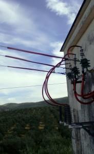 Castillo_de_Canena_Electricidad_Aislamiento