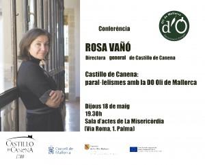 Conferencia_Mallorca_Castillo_de_Canena_Rosa_Vañó
