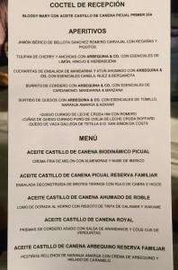 Maridaje_Castillo_de_Canena_Catering_Delicias