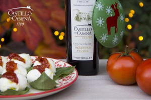 christmas_recipe_mozzarella_Castillo_de_Canena